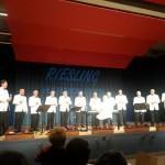 Konzert der Riesling Harmonists in der Kröver Weinbrunnenhalle